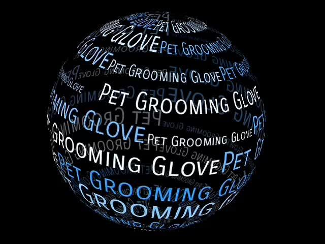 Dog Cat Horse Massage Brush, Pet Grooming Glove Brush, Pet Fur Hair Remover