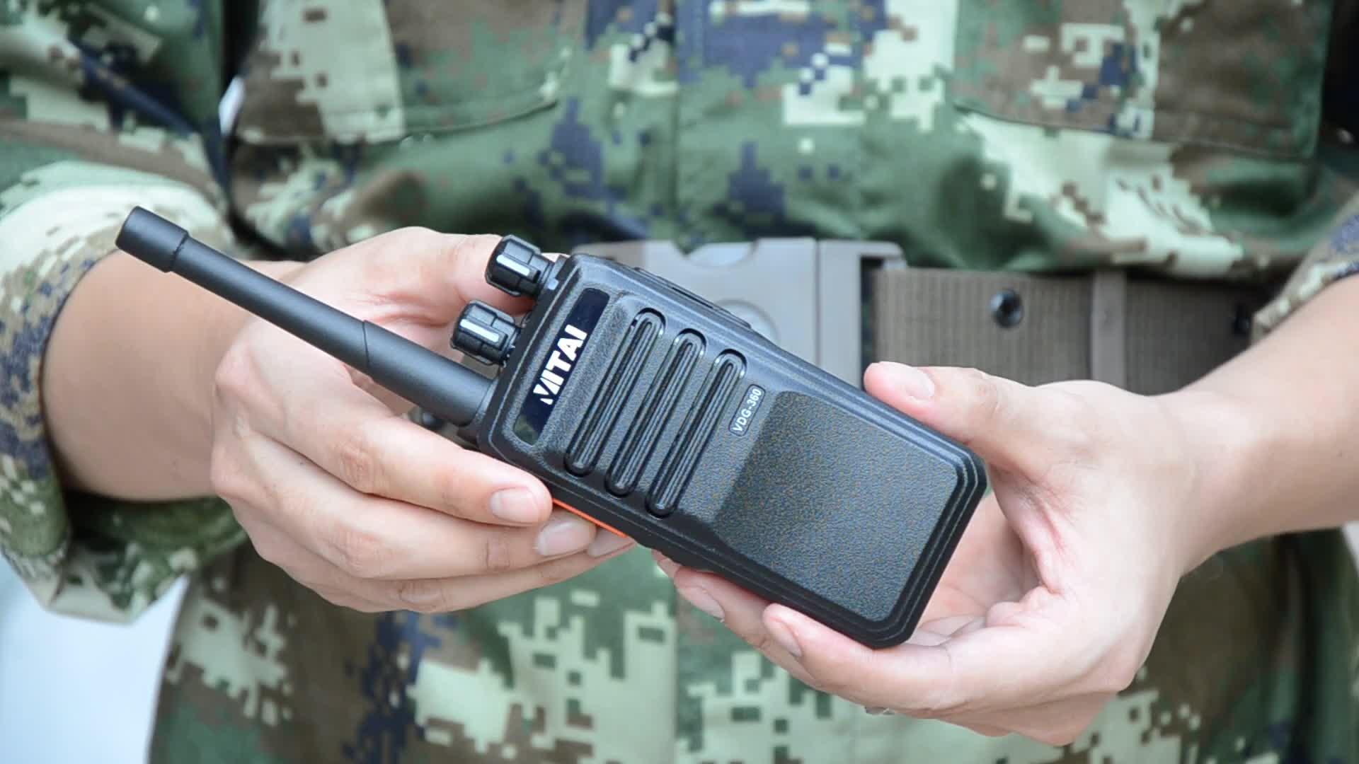 Rádio da maneira de VITAI VDG-360 DMR 2 com aprovaçã0 dos FCC dos CF