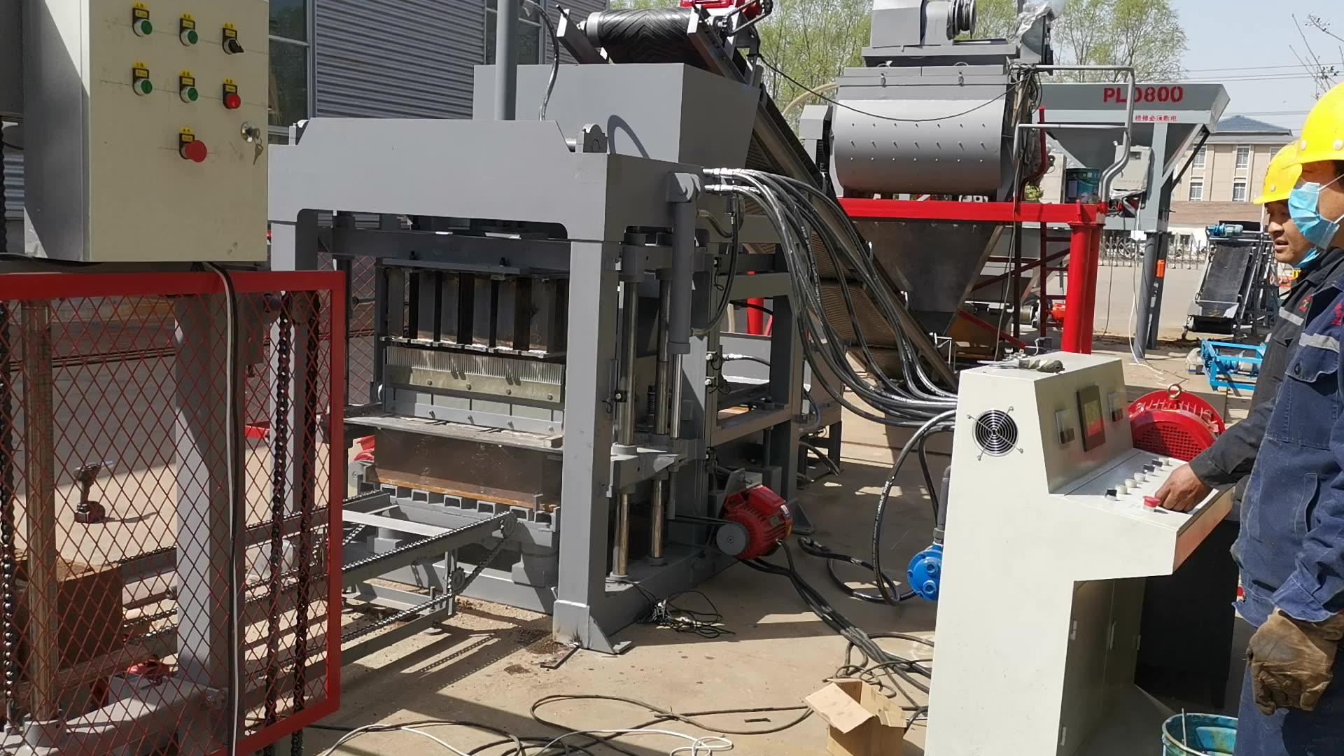 Строительные материалы QTJ4-25 строительные инструменты и оборудование