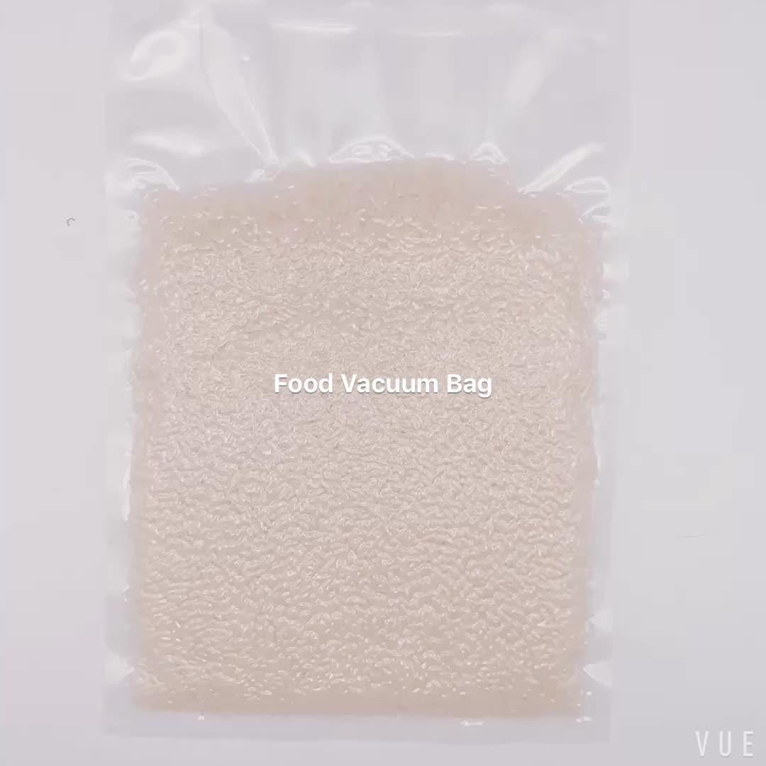 plastic food vacuum packaging bags vacuum compression