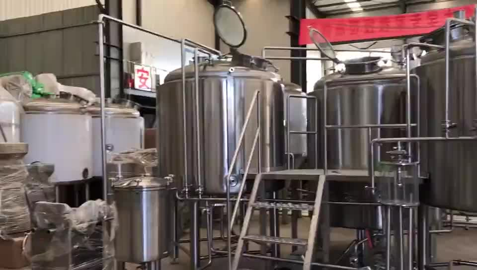 Best selling Qihui 10bbl complete brewing equipment for brewer
