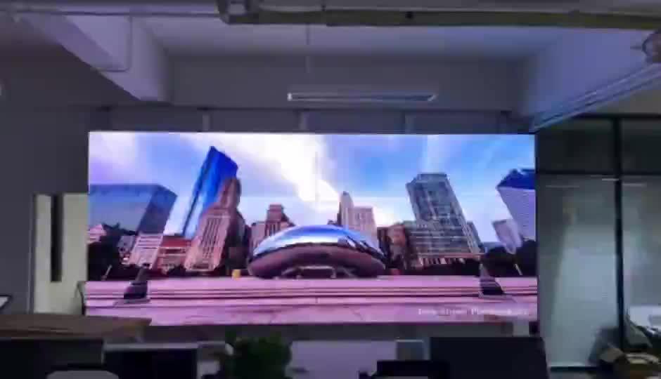 4k 55 pollici 3D parete video a cristalli liquidi display prezzo grande parete tv 4x5