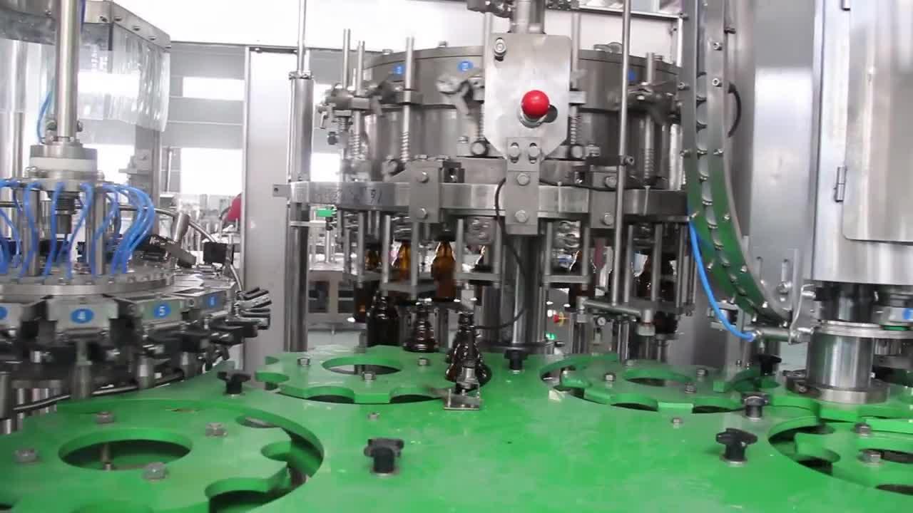 PLC Control Rotary Füllstoff Automatische Flasche Wasser/Wein/Bier/Marmelade/Honig Füllung Maschine
