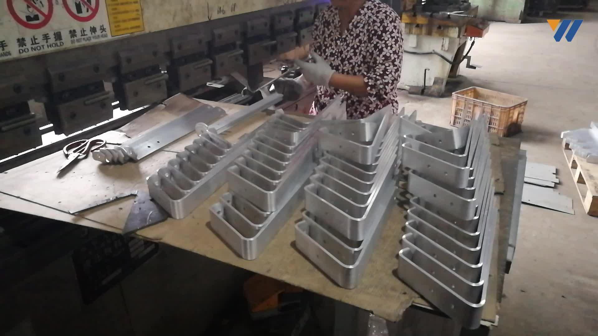 Factory OEM Heavy Duty L Shaped Wall Mounted Shelf Triangle Bracket