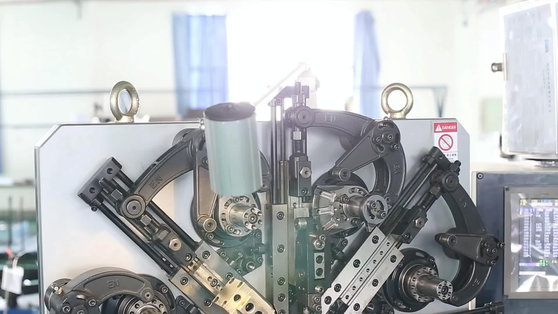 Largo gancho personalizado de forma de alambre bobina retráctil Tensión de extensión de acero inoxidable de primavera