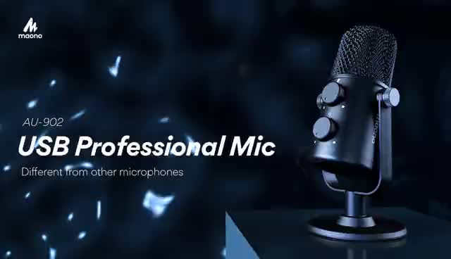 Maono Hot Selling Cardioid Stereo Desktop Microphone for Youtube