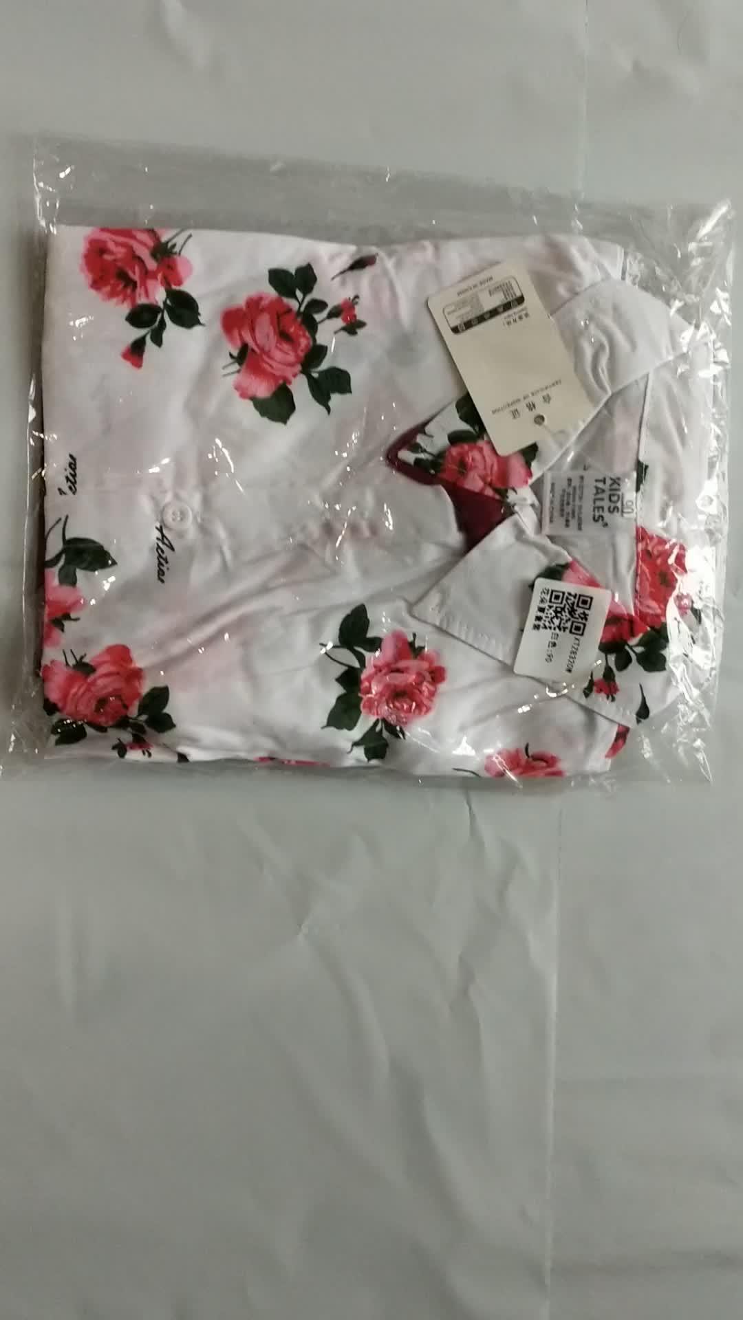 夏のボーイズ服子供服子供服の花のシャツ + ショートパンツ 2 ピース紳士スーツとボウタイベルト