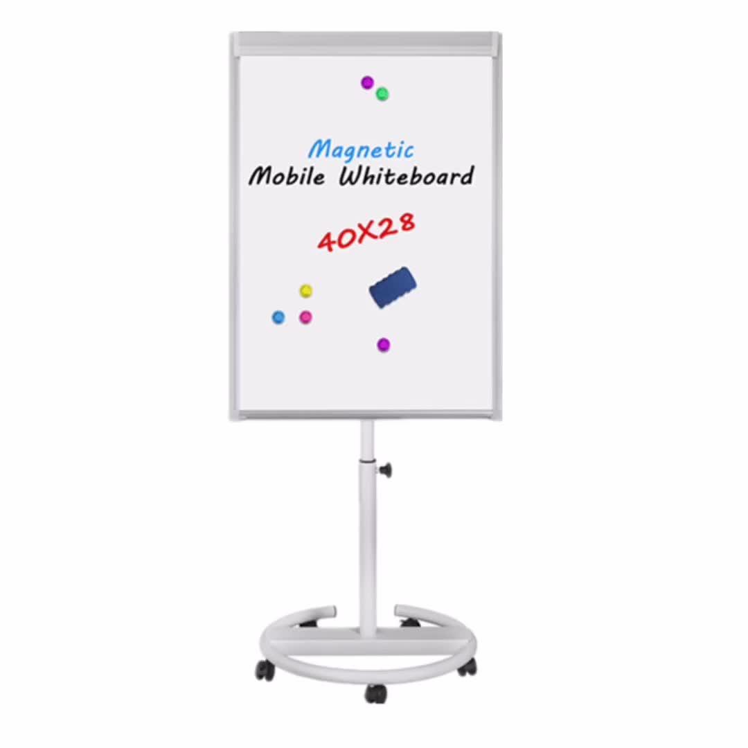 Whiteboard Flipchart Schildersezel Tafel Magnetische Flip Grafiek Board Met Stand