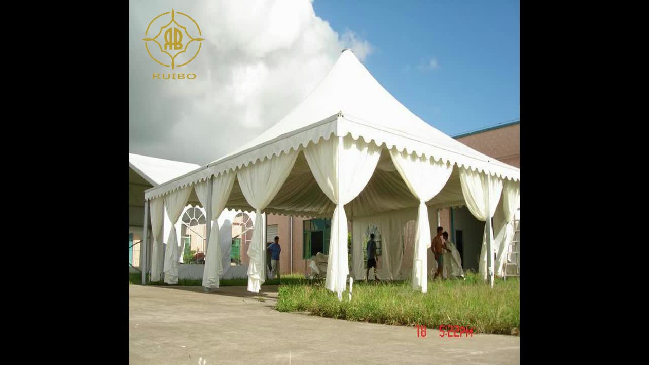 Peach shape tent with PVC fabric tent shade structure  pvc tent membrane structure architecture