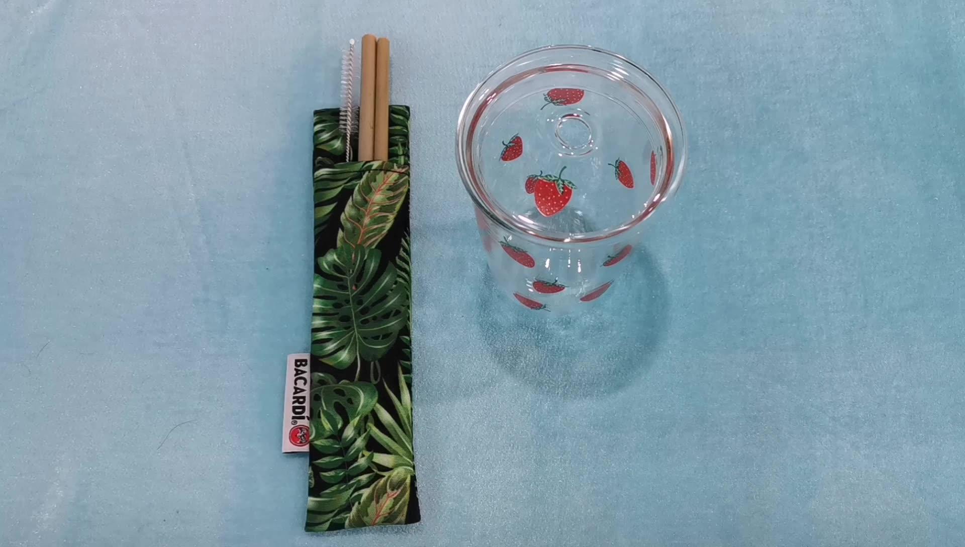 Wholesale bamboo straws with customized logo,bamboo drinking straws,bamboo straws reusable