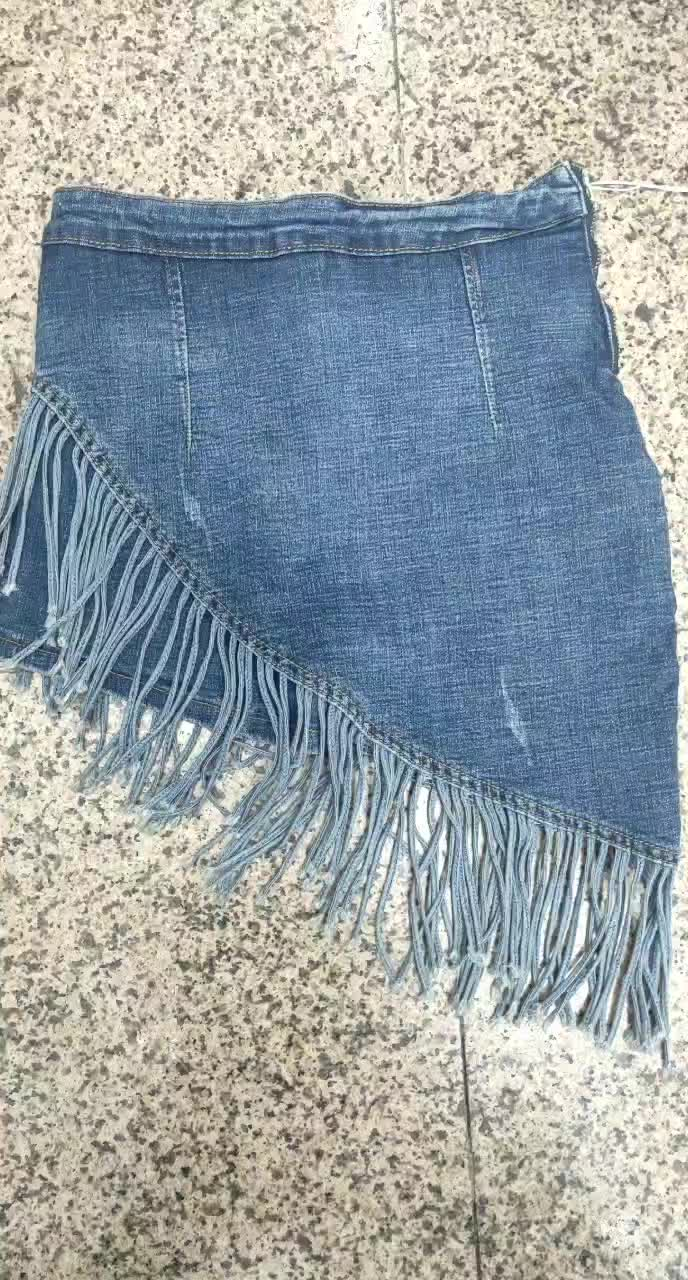 Custom factory direct Tennis jeans skirts shorts for summer