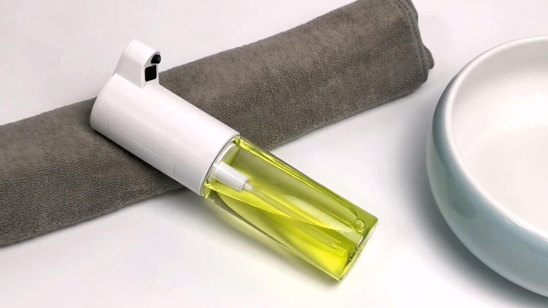 عينات مجانية ، موزع الصابون السائل التلقائي اللمس الصغيرة المخصصة مع جهاز استشعار الذكية