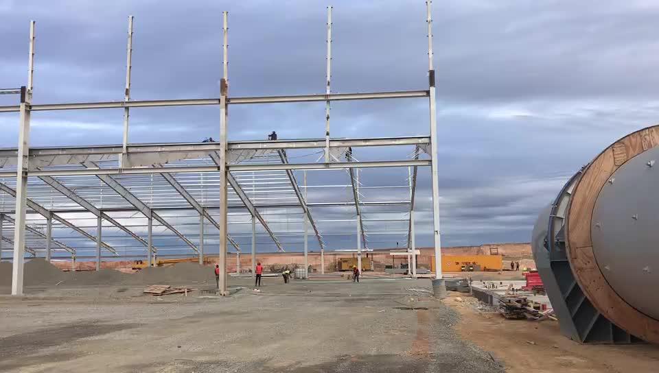 Stahl struktur metall gebäude bau selbst lagerung stahl gebäude