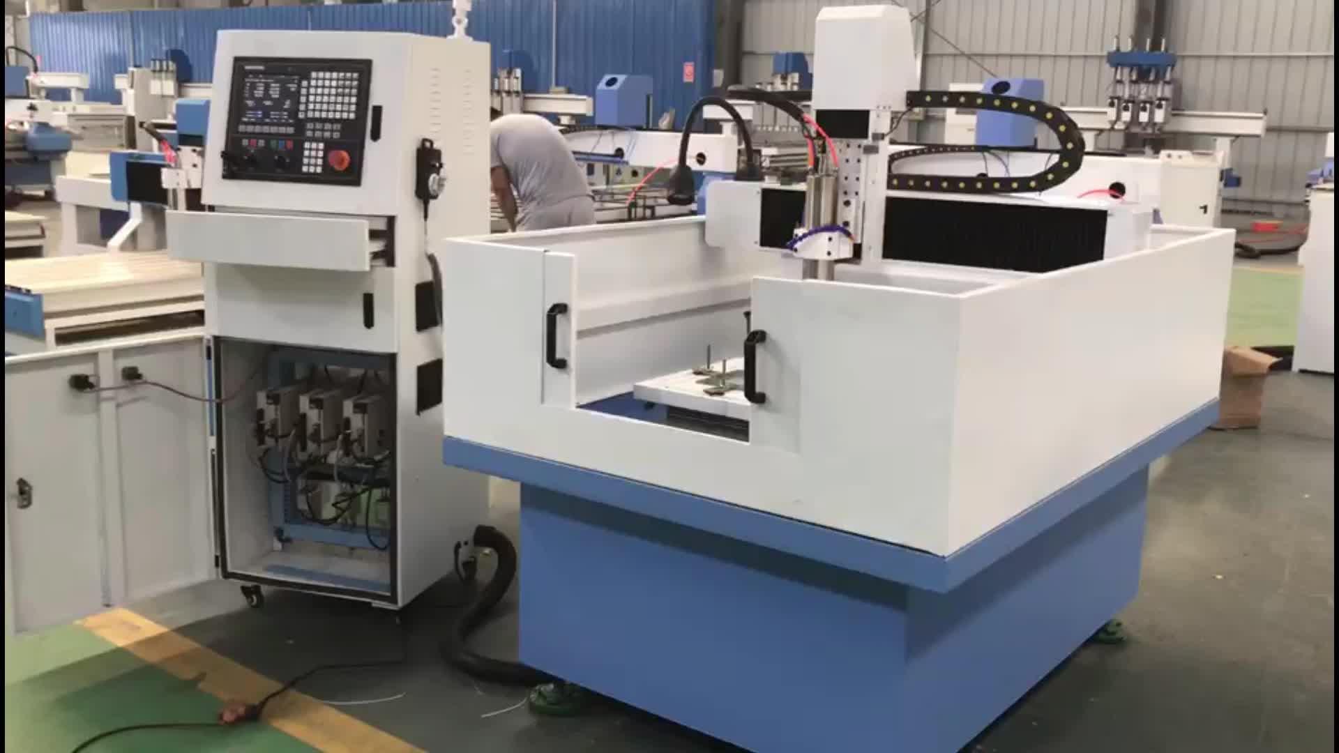 VRW-6090 Metal Fiação de Perfuração de Moagem Fresadora CNC para o Metal