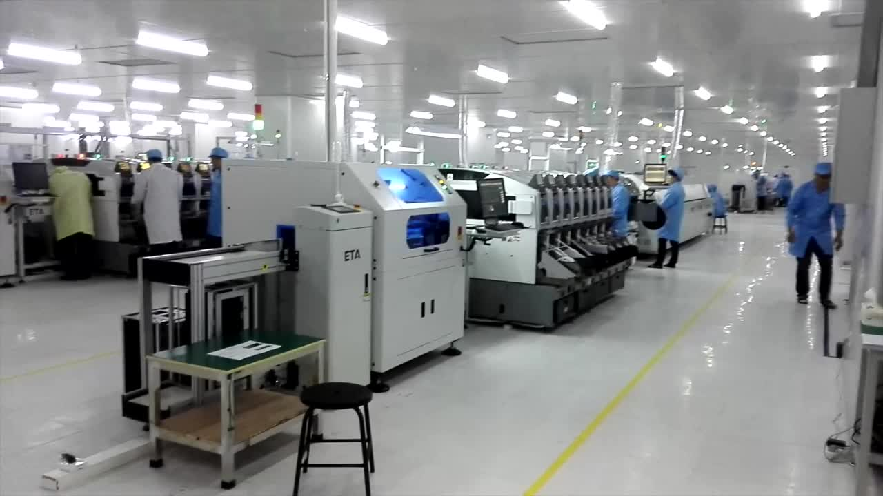 Automatic LED Lamp Production LIne/SMT Line for LED Chips 0402