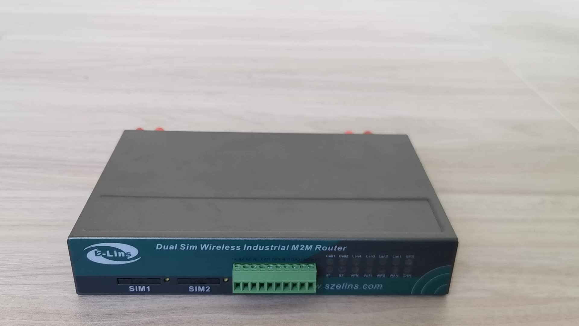 Newest H720 Serial GPS DI DO dual sim card slot 4G LTE industrial grade router WiFi VPN Modbus