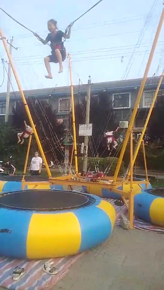 a venda quente caçoa o trampolim do tirante com mola dos jogos do divertimento for sale