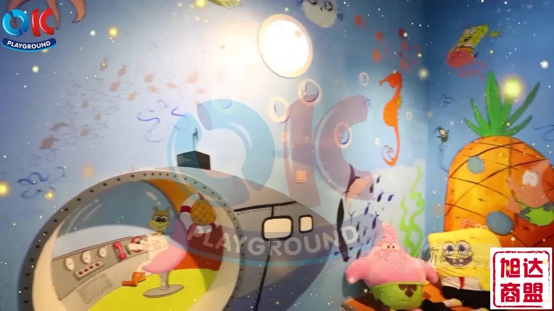 ODM OEM ילד מבנה אזור פעוט לטפס סט משחקים ילד מקורה רך לשחק נושא ציוד עבור תינוק