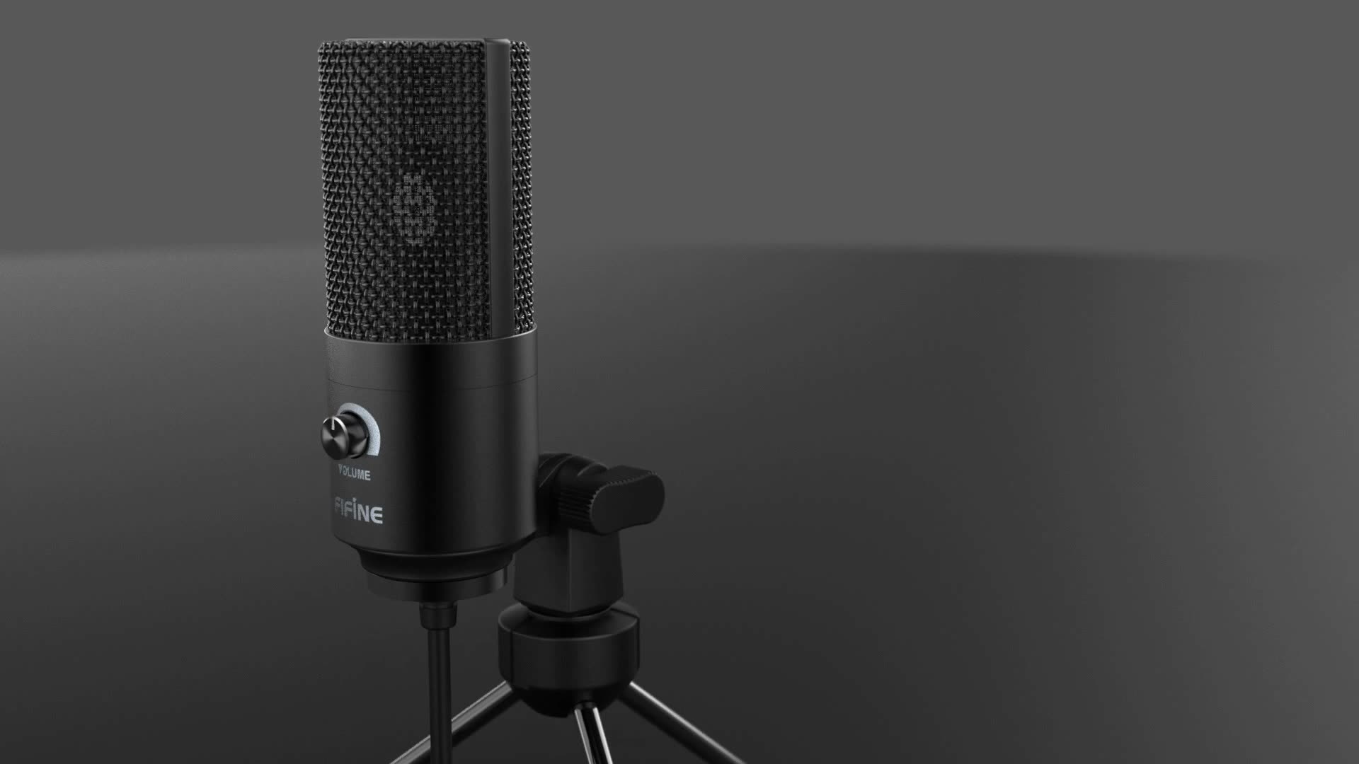 Fifine professional Usb Cardioid Studio Condenser Microphones for pc gaming -K669B