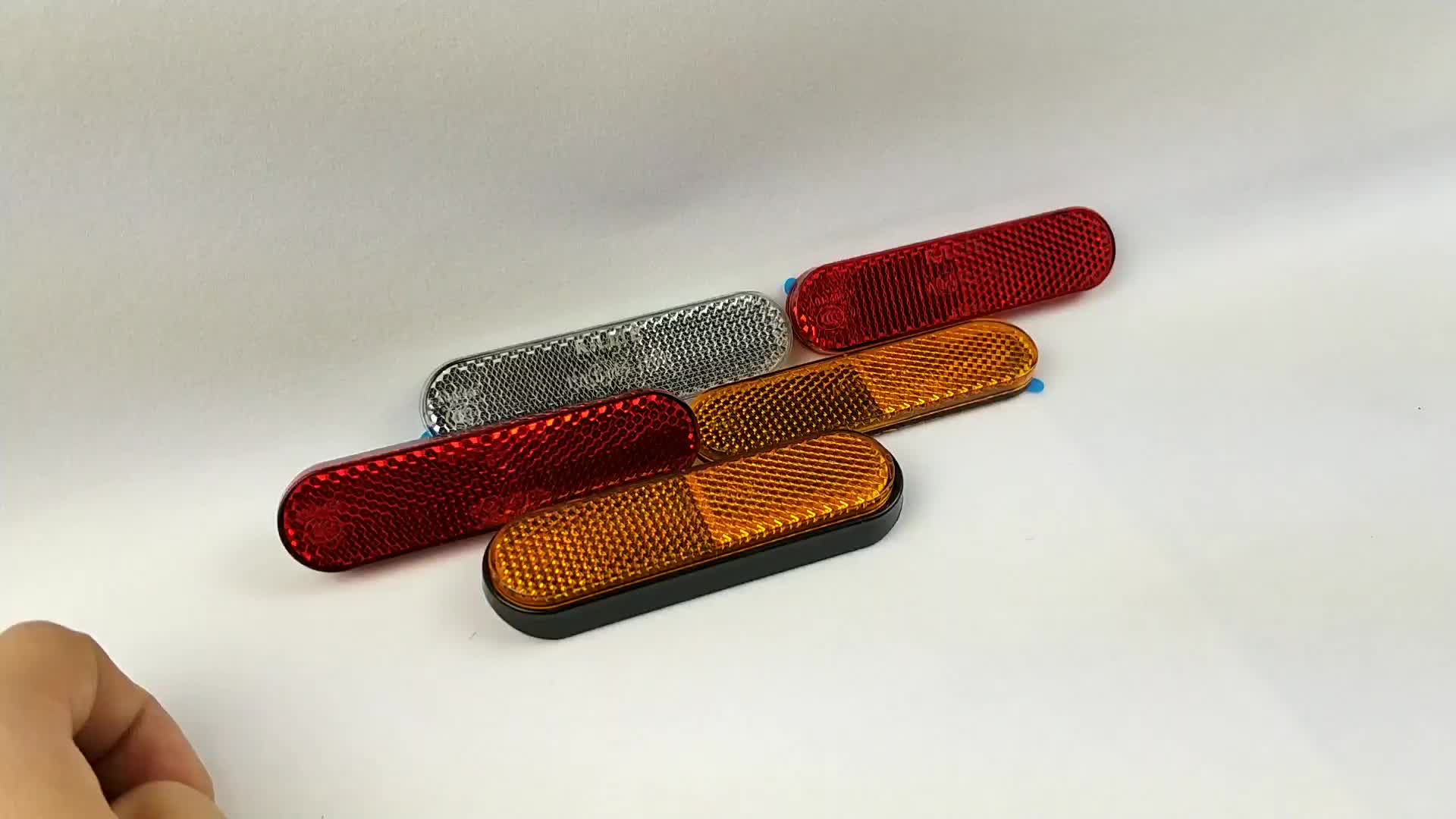 Factory supply promotion safety reflector,motorcycle reflex reflector (KM206)