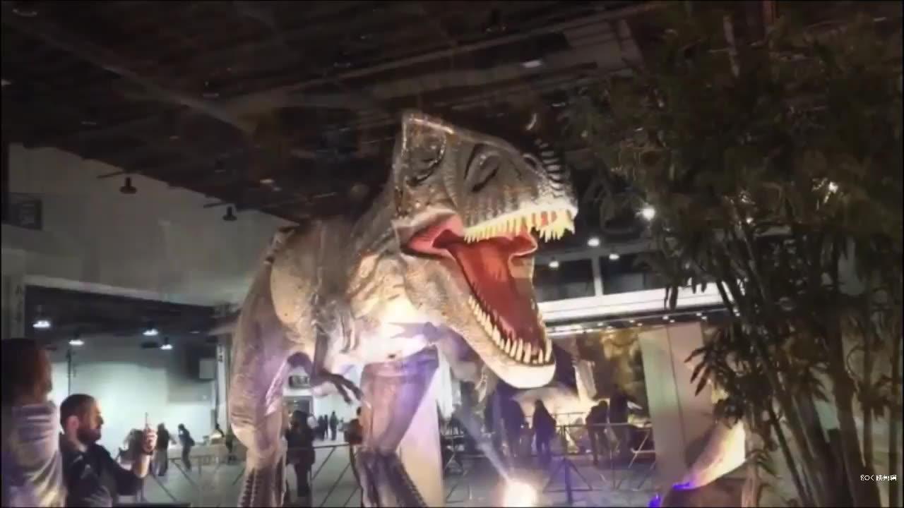 中国からのテーマパークのリアルなアニマトロニック恐竜メーカー