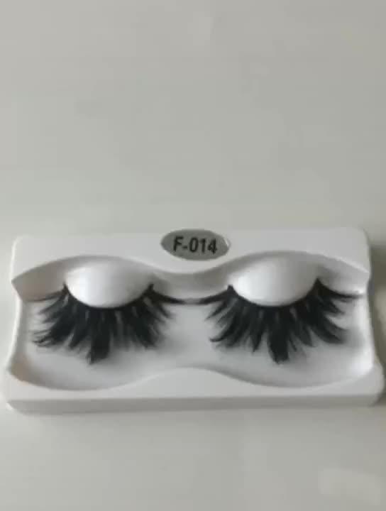 Private label mink eyelashes false eyelash 25mm Long 3D-6D mink lashes