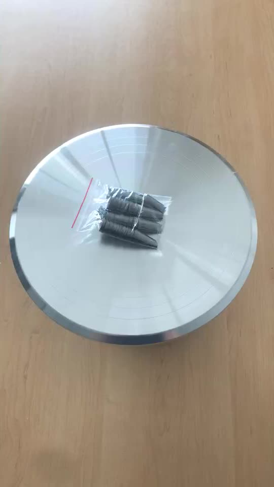 2019 Hot sale cake decorating tools set aluminum alloy cake stand high quality smooth rotation