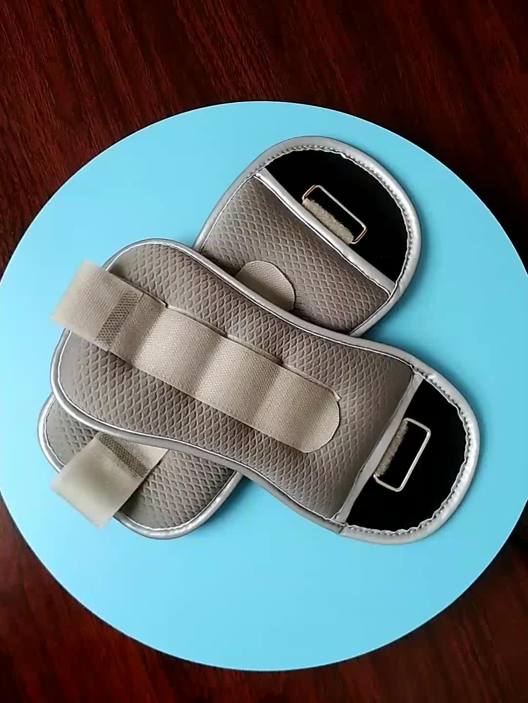 O ferro ajustável lixa o peso do tornozelo do pulso da aptidão