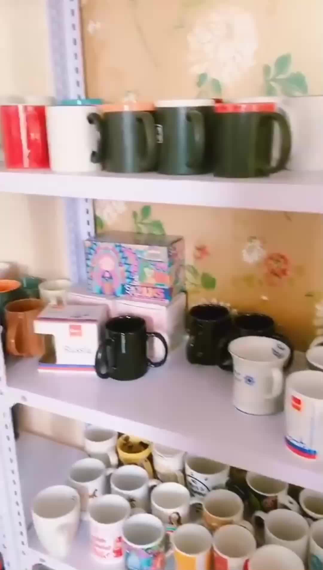 Grosir Populer Sublimasi Mug Perjalanan Disesuaikan Keramik Cangkir Kopi Sublimasi Kosong Mug
