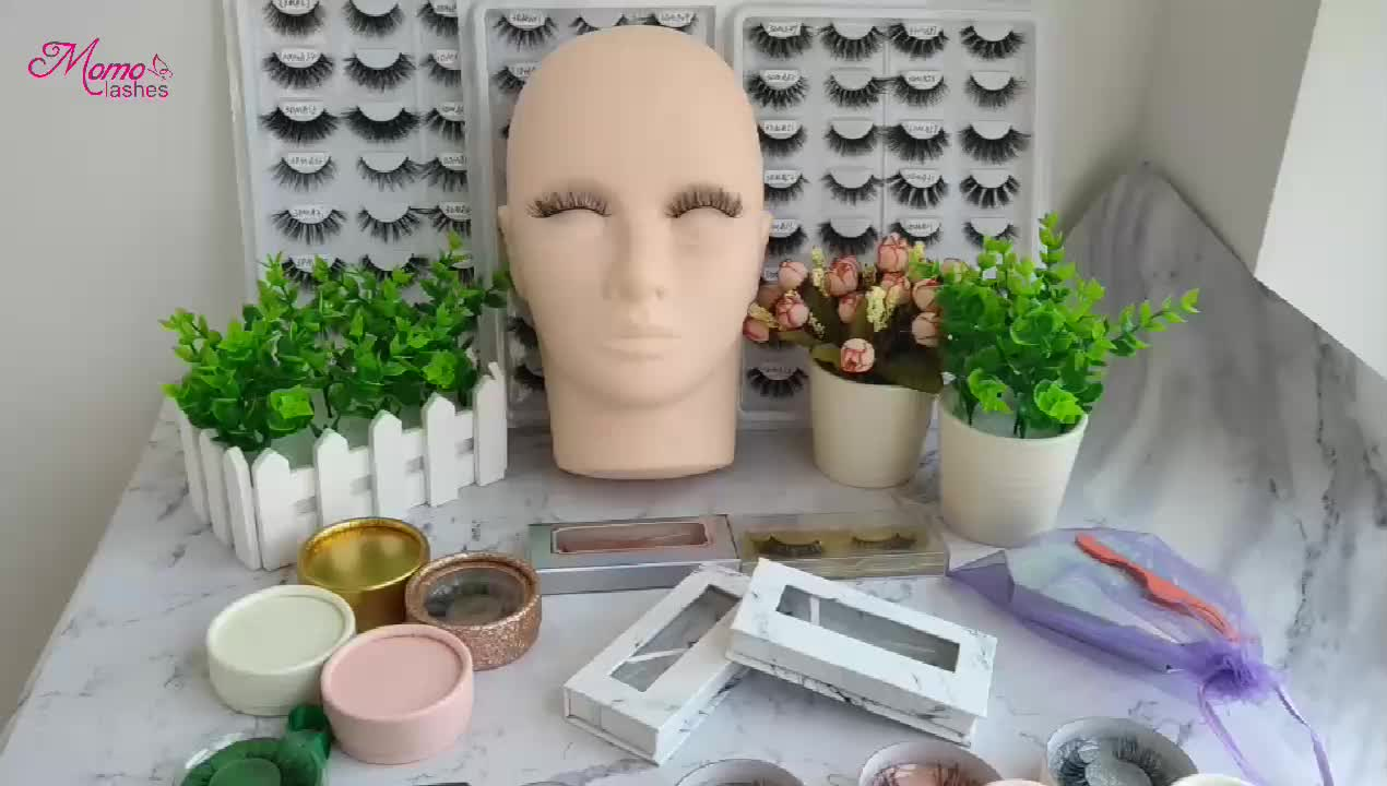 ที่ว่างเปล่า Luxury Custom Glitter Eyelash ฉลากส่วนตัวสำหรับ 3D Mink Eyelashes ผู้ขายในจีน