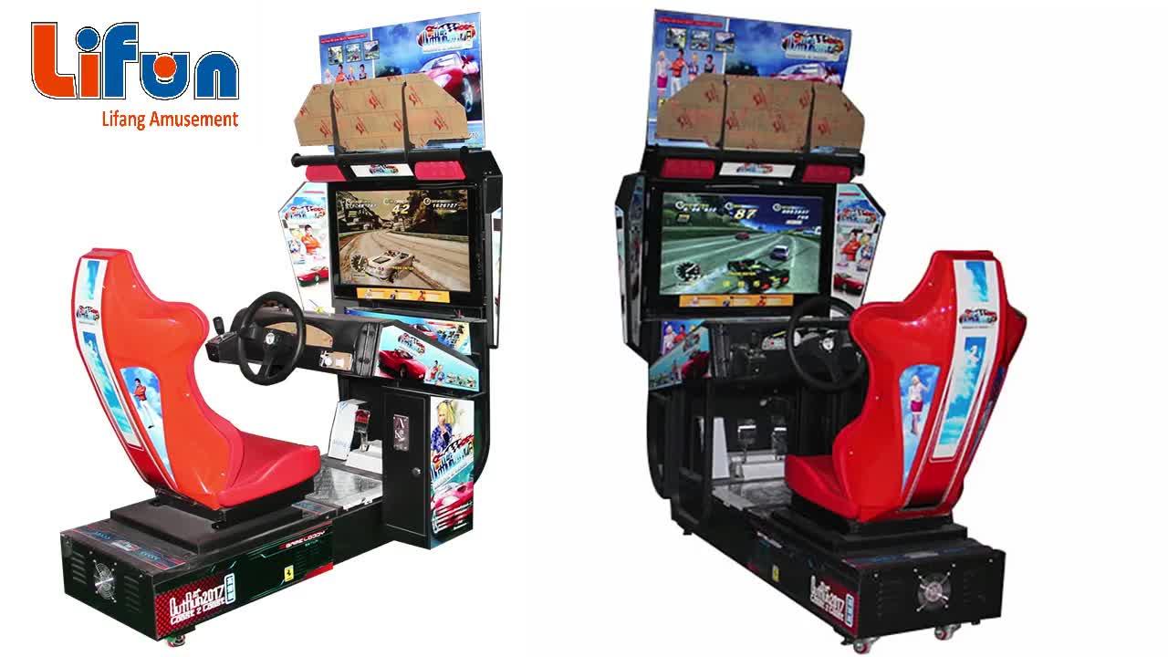 A01 Lage Prijs India Elektronische Simulator Ontlopen Video Muntautomaat Auto Racing Arcade Game Machine Voor Game Center