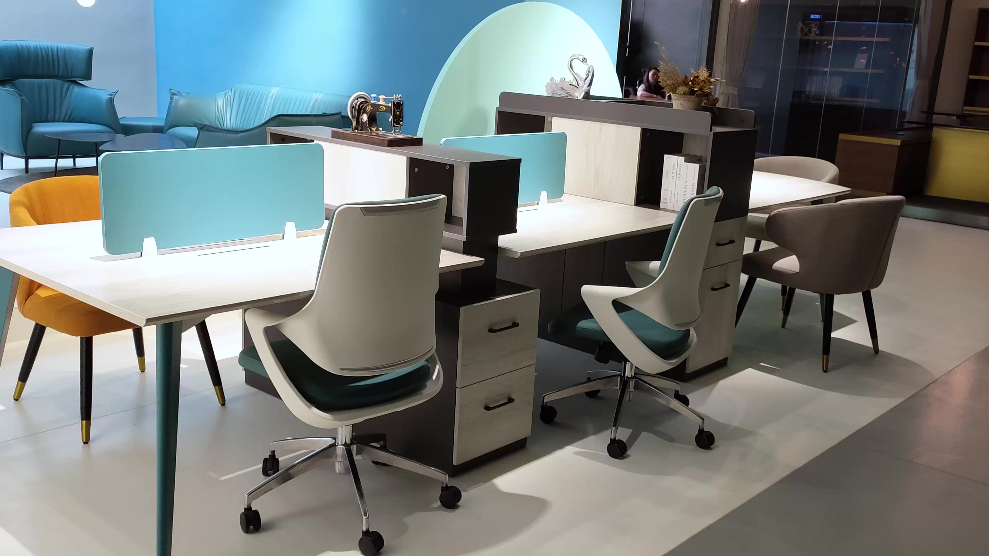 Import Material Arrangement Cool Cubicle Gadgets Modern Office