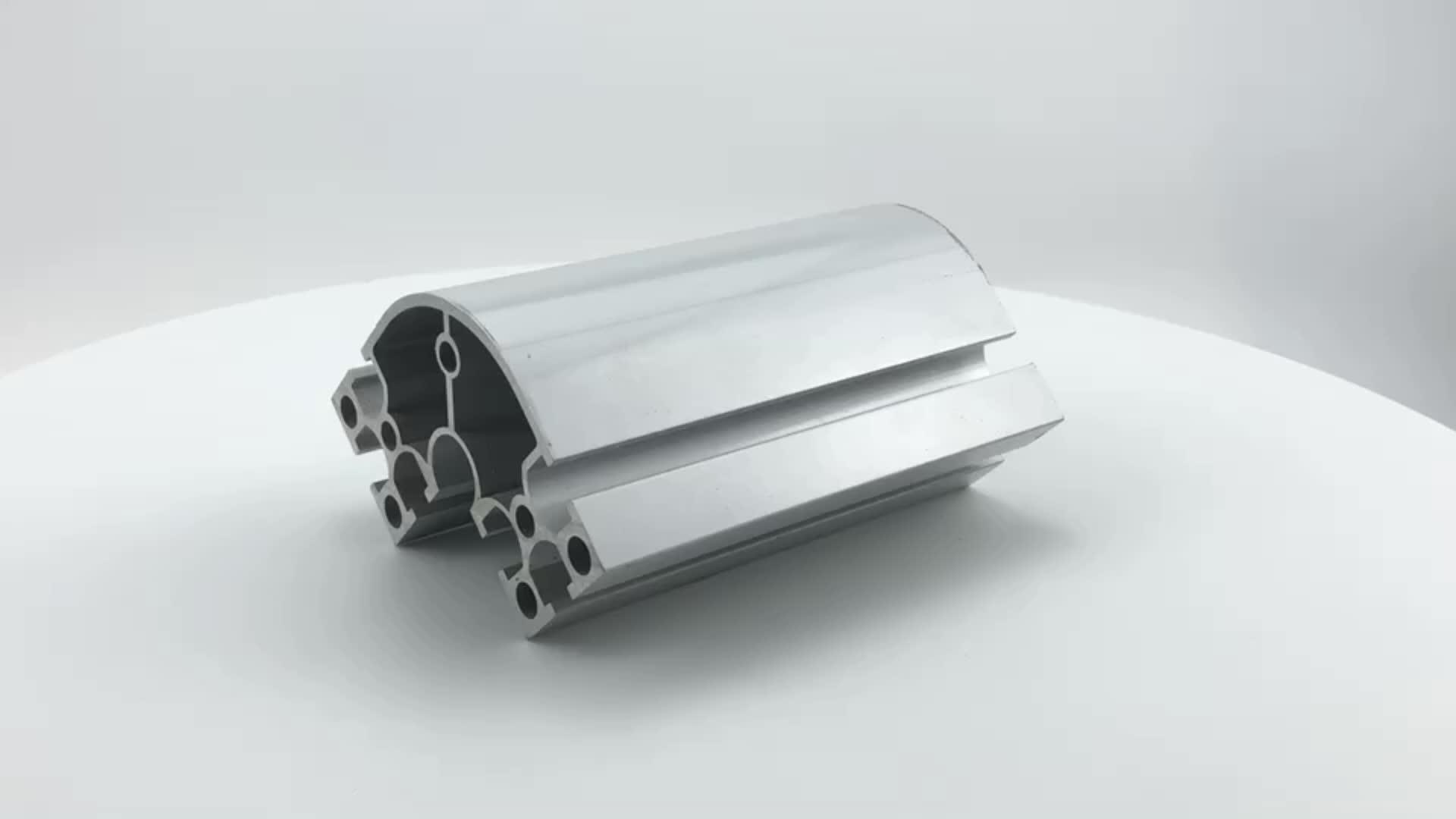 Custom V slot T slot 6061 t6 industrial aluminum profile prices per kg