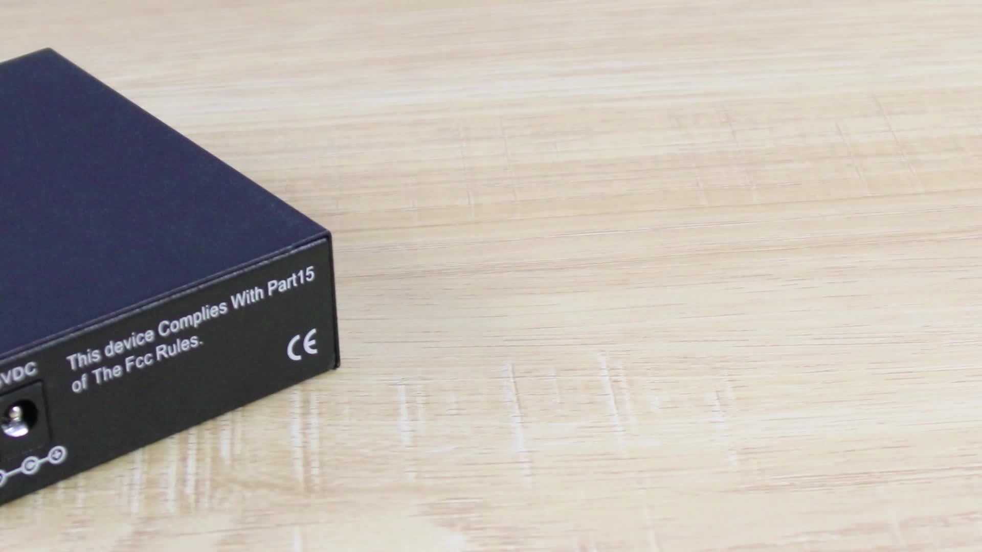 1 sfp port 1 rj45 ethernet 10/100/1000M gigabit fiber to rj45 converter sfp media converter