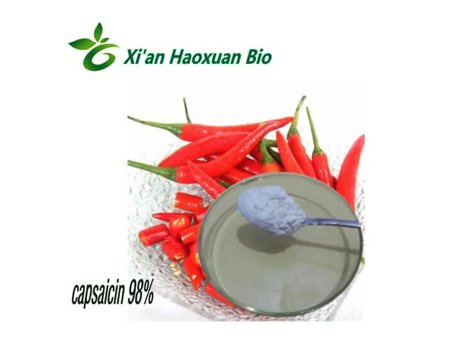Capsaicin powder Capsaicin 98% Increase Serotonin Production in Brains