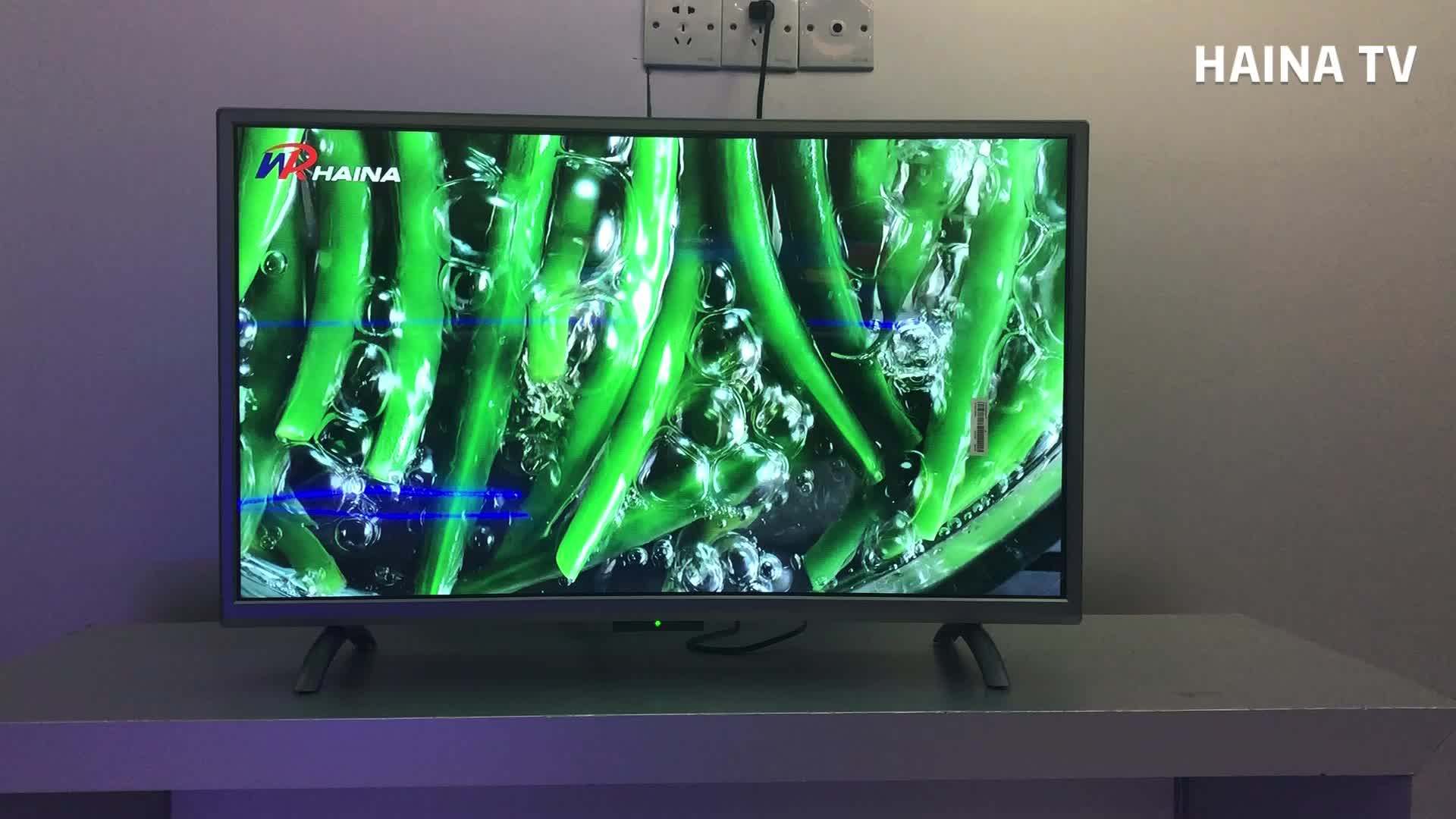 Haina china 32inch led lcd smart curved tv television cheap price in pakistan
