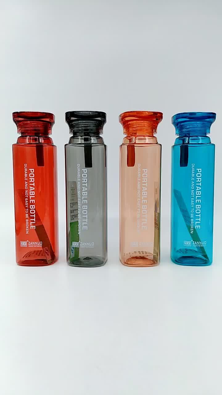 Groothandel aangepaste tritan plastic outdoor sport drinkwater fles