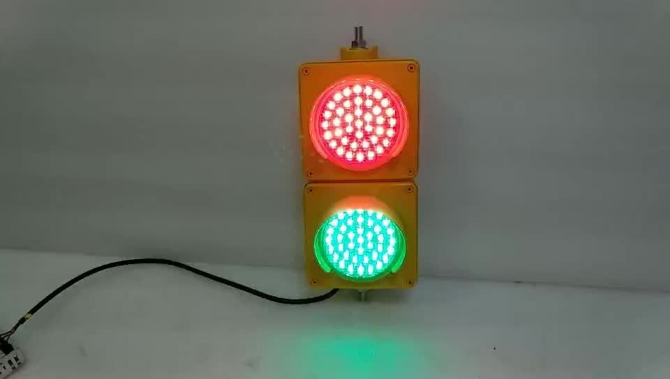 10 Years Factory red green 100mm mini traffic light