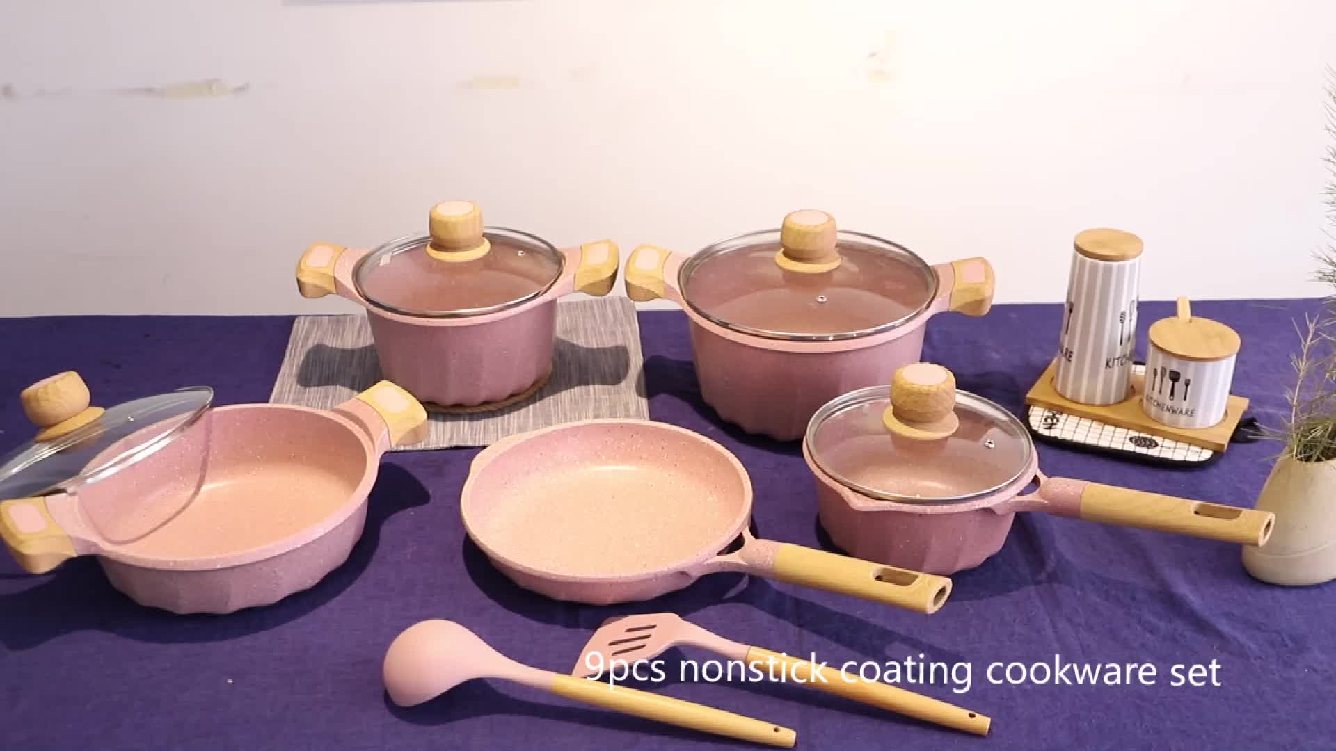 Cooklover 32 Cm Die Cast Aluminium Marble Coating Induksi Bawah Daftar Pan