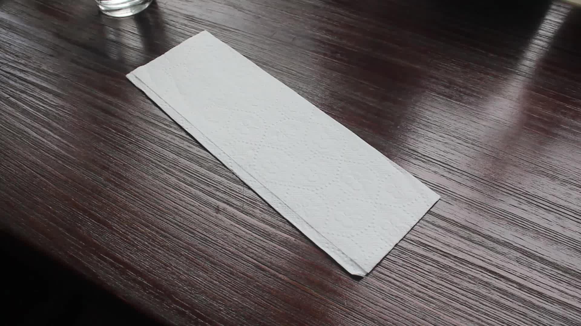 C ผ้าขนหนูกระดาษพับได้ด้วยกระเป๋าแห้งเร็วดูดซับ, 20 ซอง / กล่อง, 200 C พับผ้าขนหนู / แพ็ค