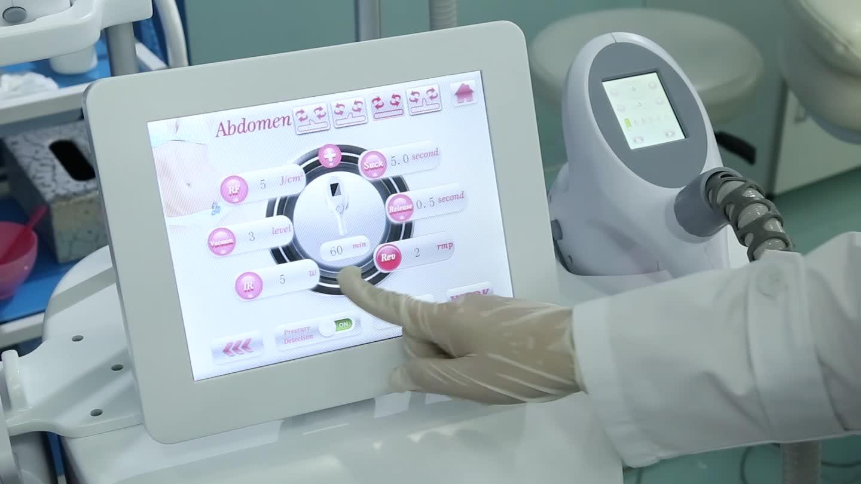 Rapid shaping Multifunction cavitation lymphatic drainage massage vacuum rf machine with roller