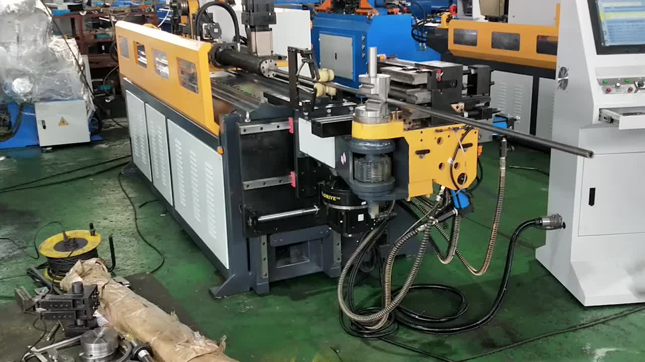 2 3 4 inch tube bender/1.5 inch hydraulic cnc exhaust mini tube bender, pipe bending machine