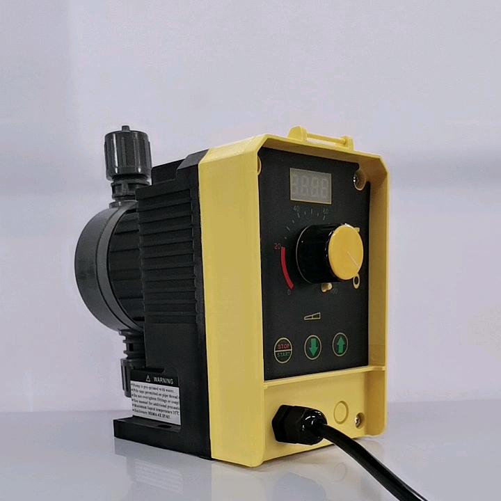 Industrial PVC Material Solenoid Chemical Flow Acid Chlorine Diaphragm Dosing Metering Pump