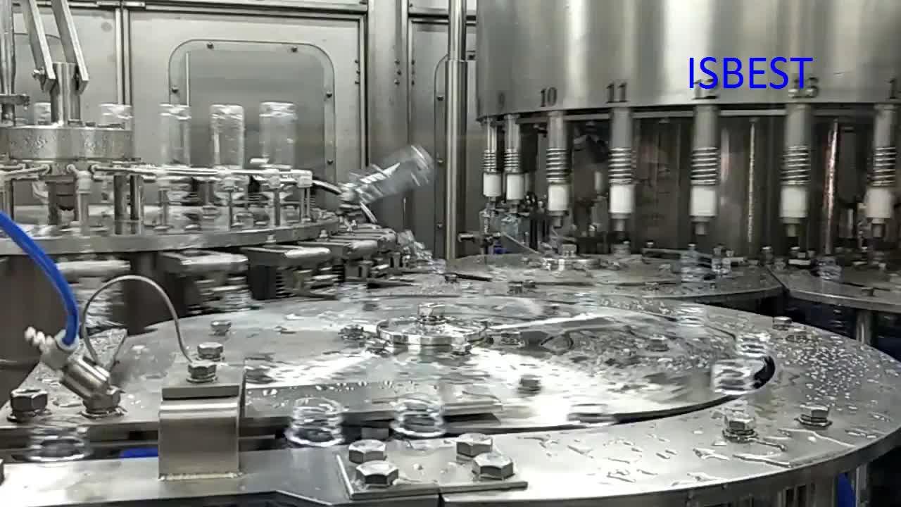 Prezzo di fabbrica Automatica PET Minerale Bottiglia di Acqua Potabile Che Fa La Macchina di Imbottigliamento