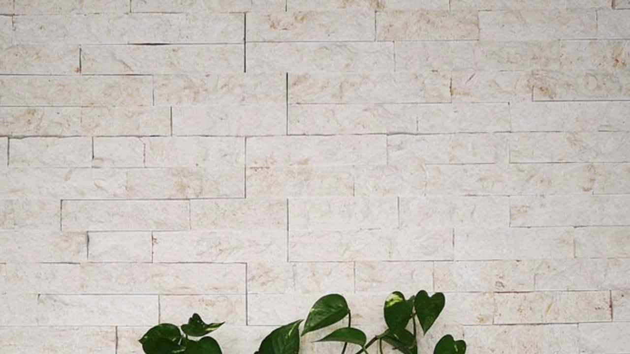 Hỗn hợp màu trang trí slate bút chì bảng điều chỉnh tường tự nhiên văn hóa đá