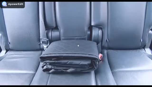 Outdoor Waterproof SUV Seat Cover for Pet Dogs Non-slip Dog Pet Car Seat Cover