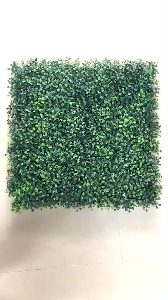 Artificial Boxwood Hedge Fence Wall Outdoor