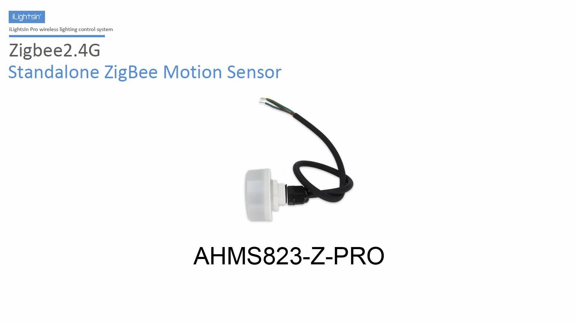 2019 productos OEM Zigbee detector de movimiento de sensor inteligente para habitación APP controlada