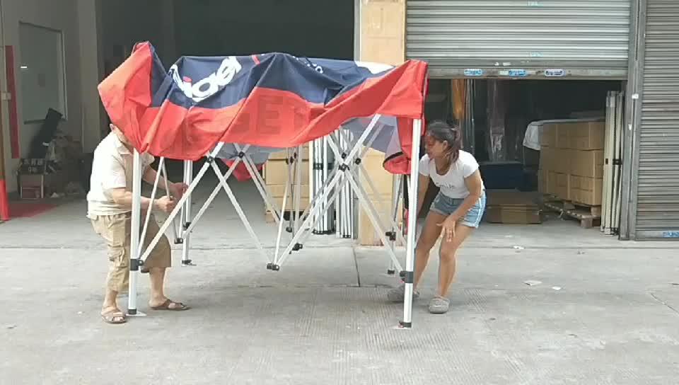 10x10 Ft di Fabbrica Pieghevole baldacchino tenda Fiera Pop up gazebo All'aperto Tenda per Eventi