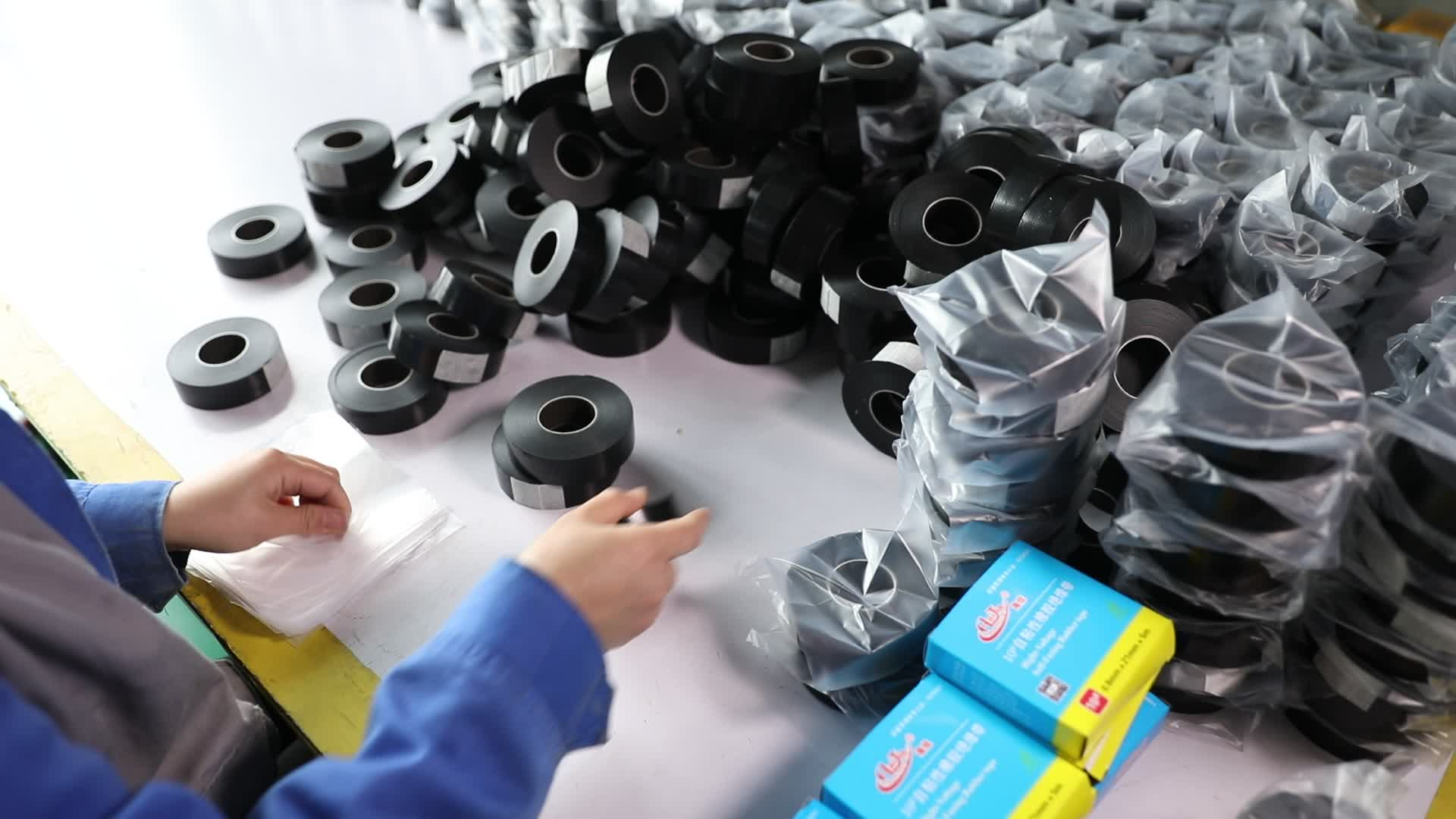 10# High-Voltage Self-Fusing Rubber Tape